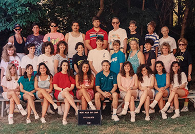 Camp group picture from 1991