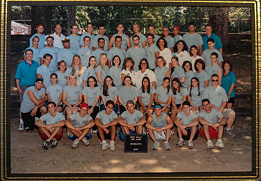 Camp group from 2002