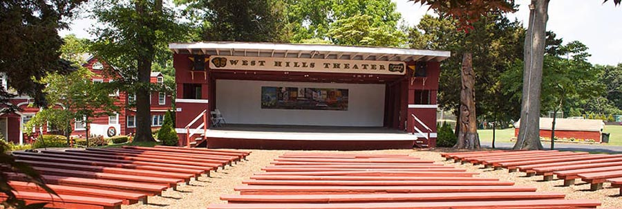 West HIlls Day Camp Theater Stage